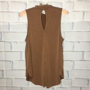 American Eagle Outfitters Tops - American Eagle Soft & Sexy Sueded Tan Tank Top